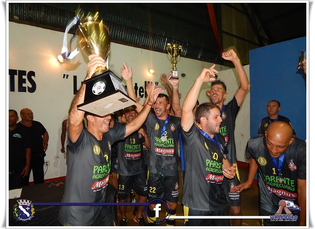 Final do Campeonato Municipal de Futsal  - Parente Agropecuária x Meninos da Vila