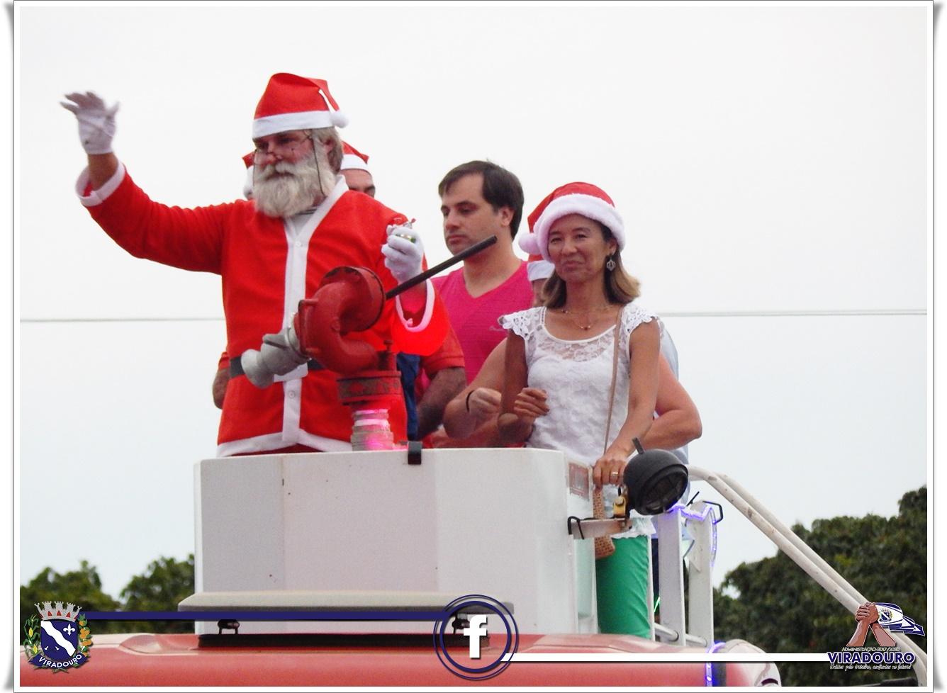 A chegada do Papai Noel 2017