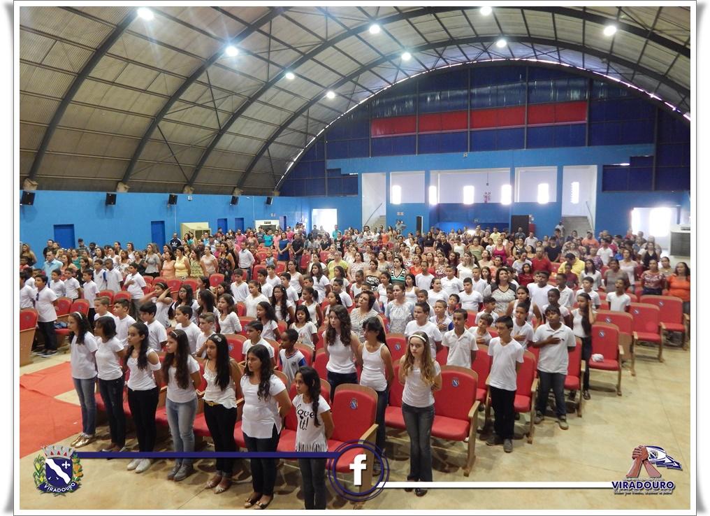 Formatura dos alunos do 5º ano das EMEFs Marília R. P. Rosseto e Dr. Sandoval José de Almeida