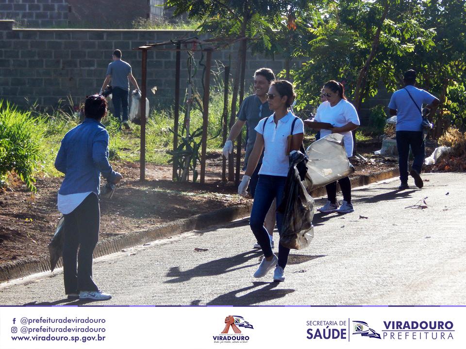 3º Mutirão de Combate ao Mosquito Aedes Aegypti.