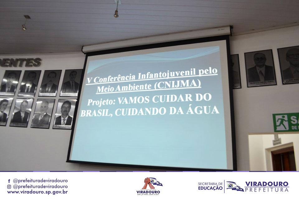 5ª Conferência Nacional e 1ª Conferência Municipal Infanto-juvenil pelo Meio Ambiente.