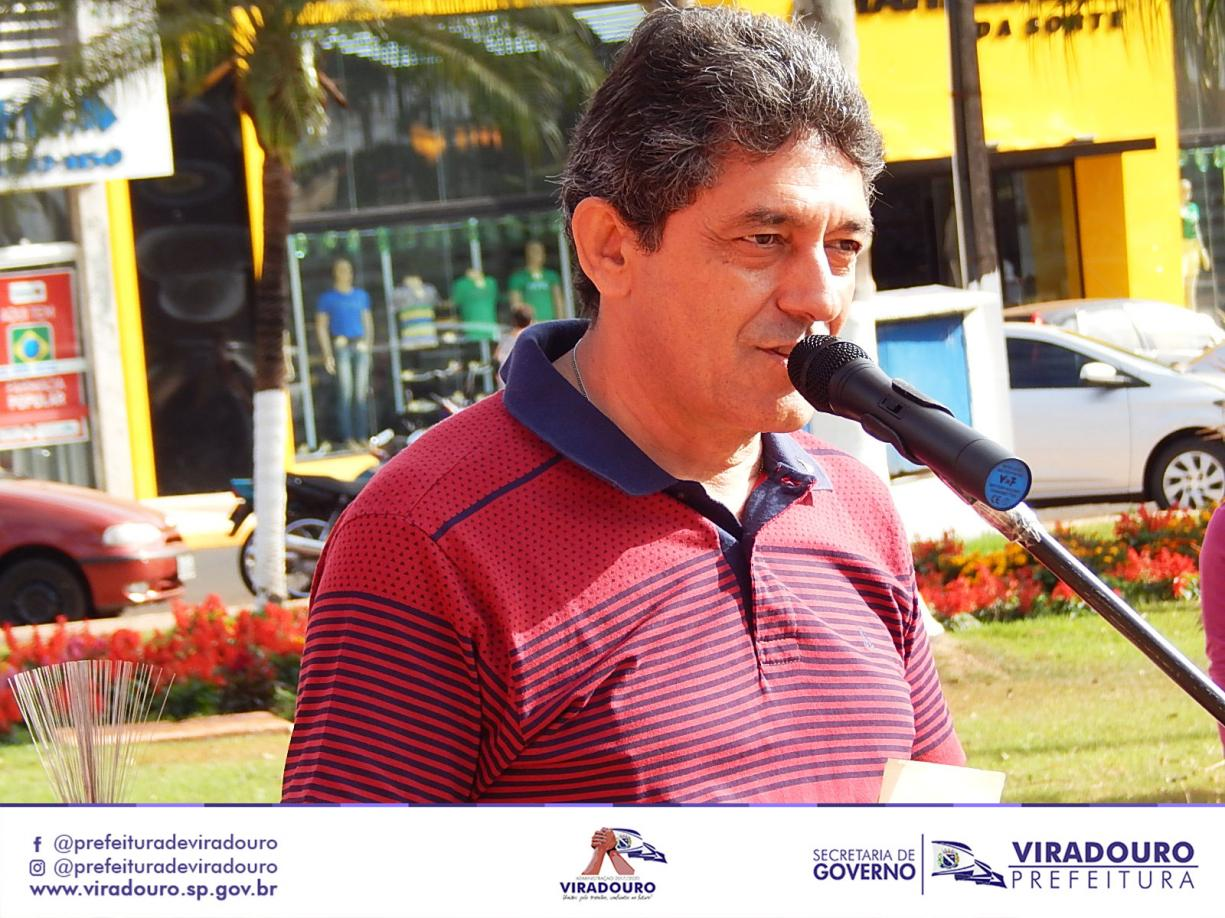 Homenagem ao Sr. João Batista Teixeira (Tio Zico)