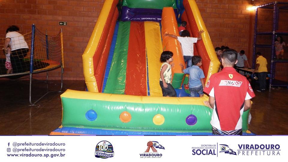 Festividade em Comemoração ao Dia das Crianças