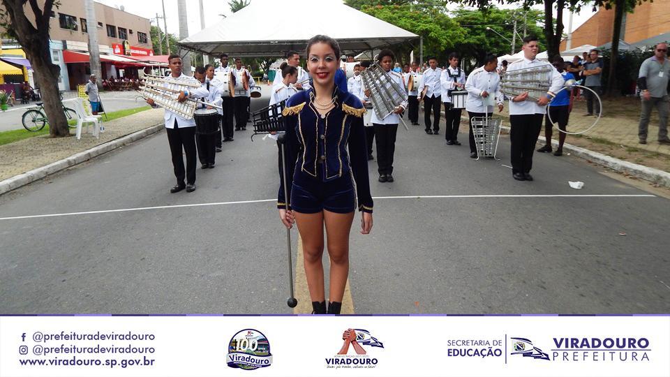 Corporação Musical de Viradouro (Fanfarra) é Vice Campeã Estadual