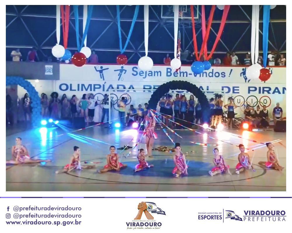 Abertura 24ª Olimpíadas de Pirangi 2019
