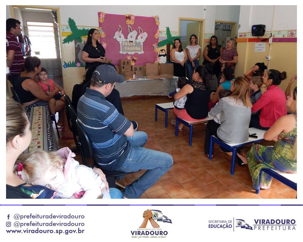 Entrega dos Kits nas Escolas EMEI Prefeito Matheus Conceição e CMEI Dra. Maria Zamarioli