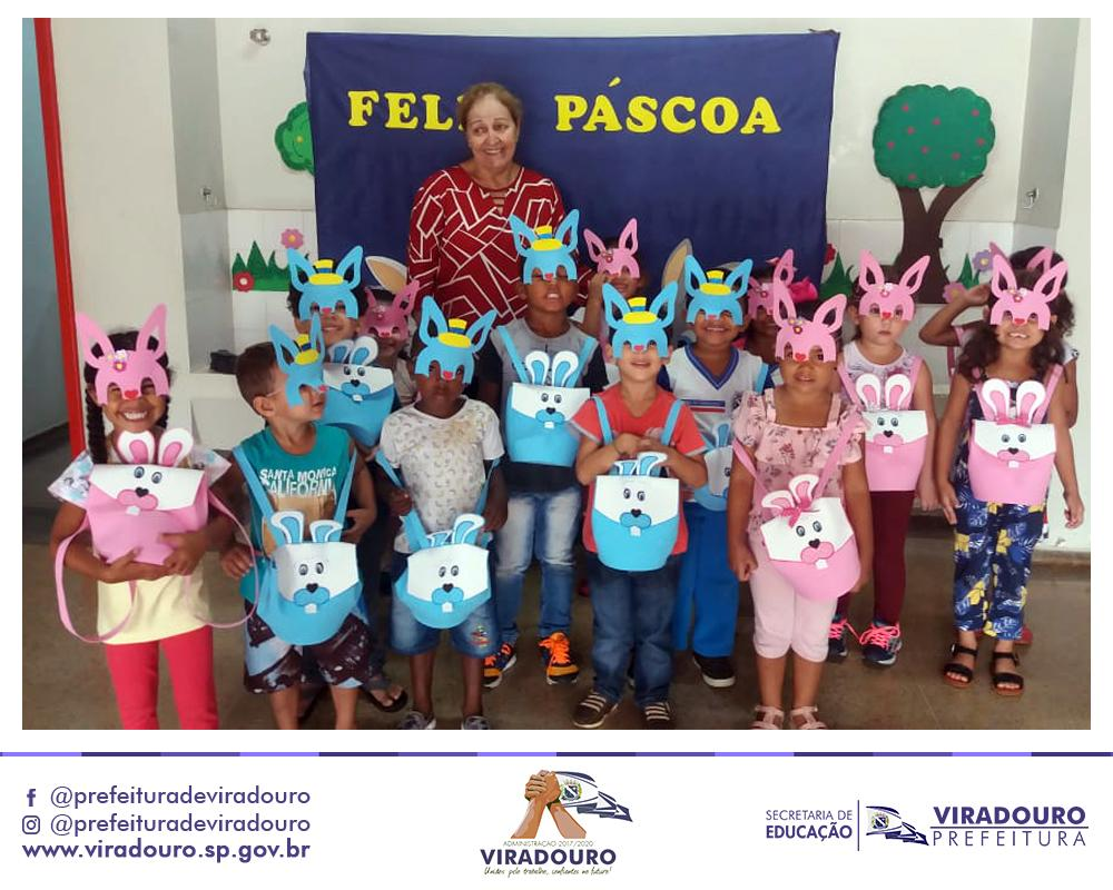 Semana da Páscoa com Ovos de Chocolate nas Escolas!