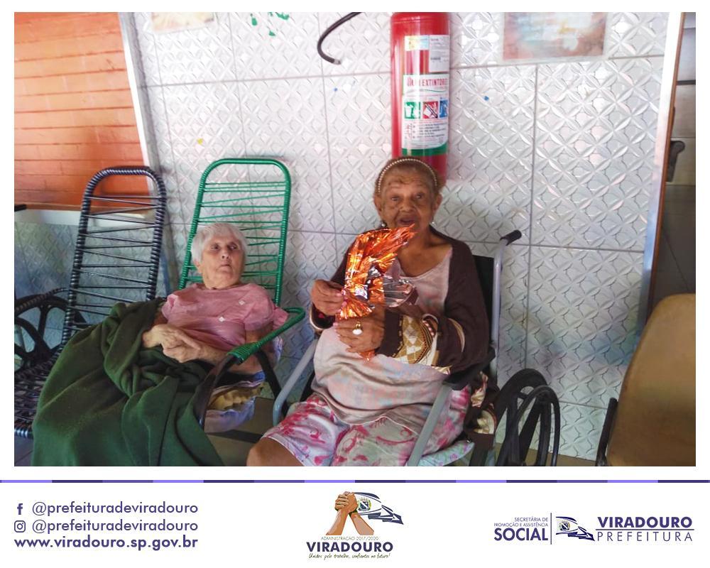Ação Social Entre a Prefeitura e a Secretaria de Ass. Social (Páscoa