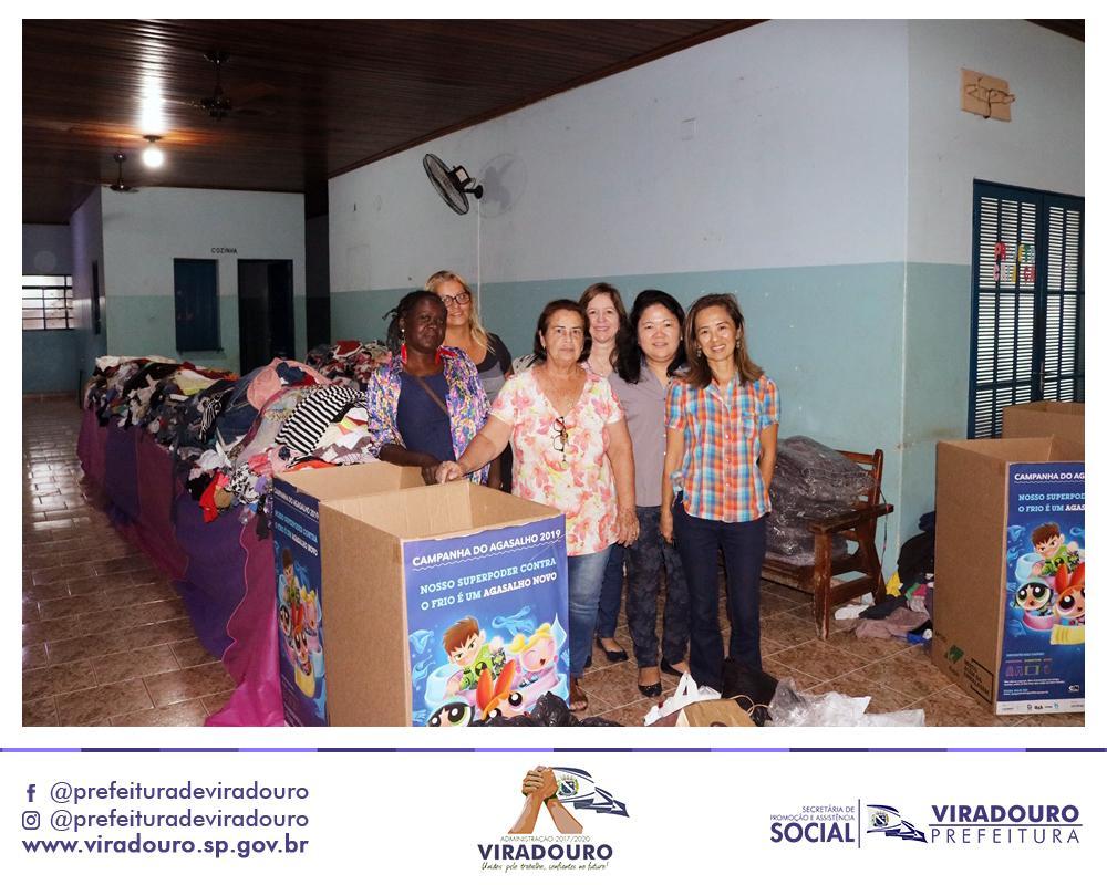 Distribuição de Roupas - Campanha do Agasalho 2019