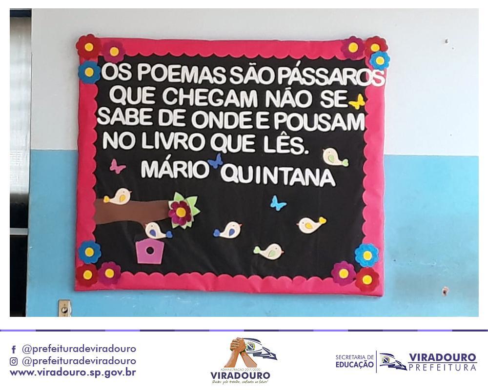 PRIMEIRO SARAU LITERÁRIO DA EMEF