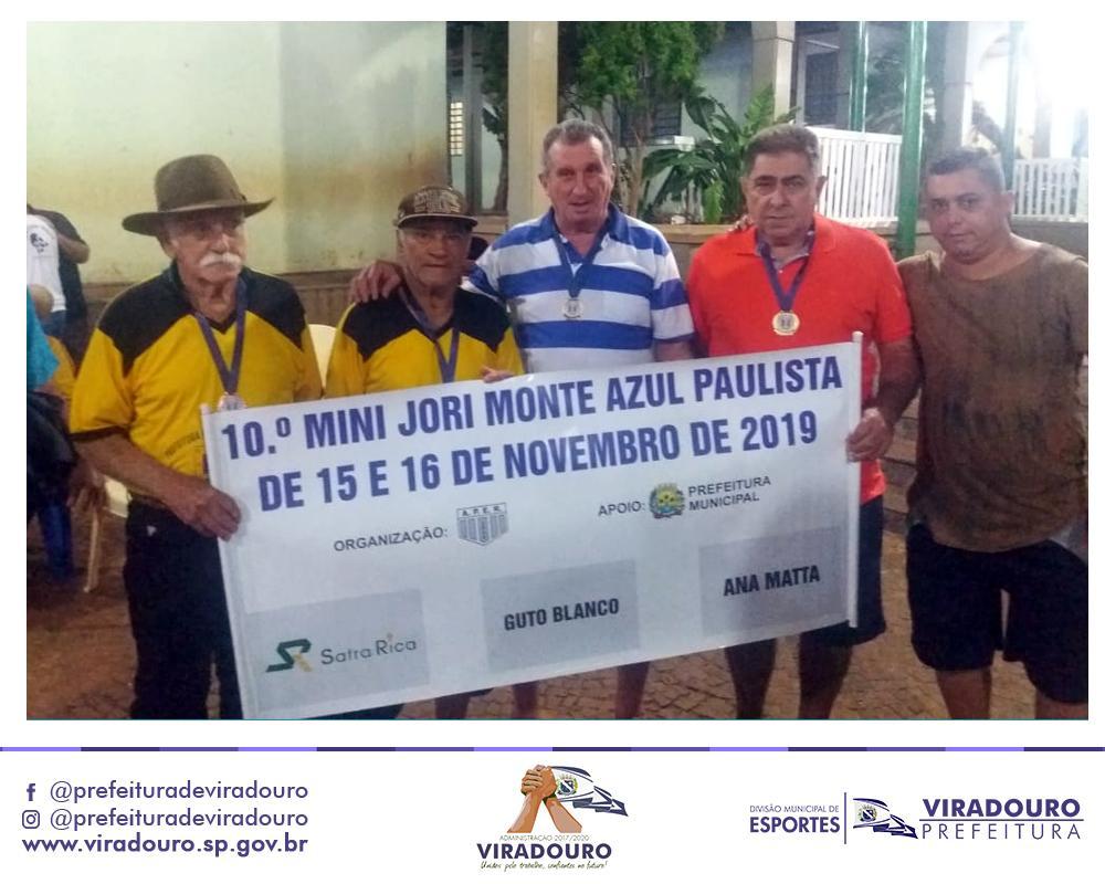 VIRADOURO FOI VICE-CAMPEÃ NO 10º MINI JORI 2019