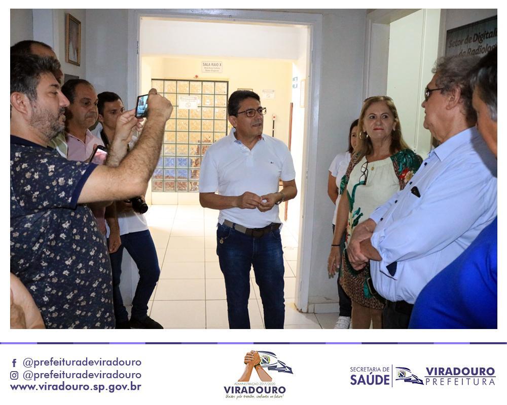 INAUGURADO O SETOR DE DIGITALIZAÇÃO DA RADIOLOGIA NO HOSPITAL DE VIRADOURO