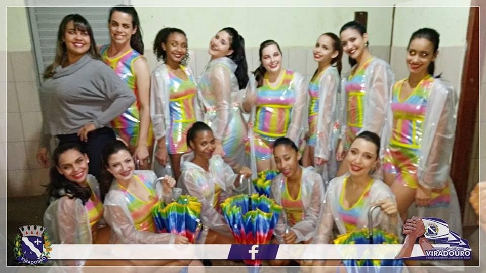 Escola de Dança Norma Borelli Conceição - CIA Corpo em Movimento foi atração na abertura dos jogos regionais em Taiaçu
