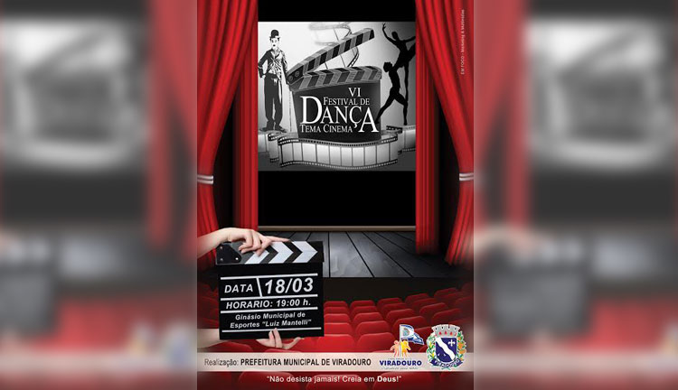 Vl Festival de Dança - Tema Cinema