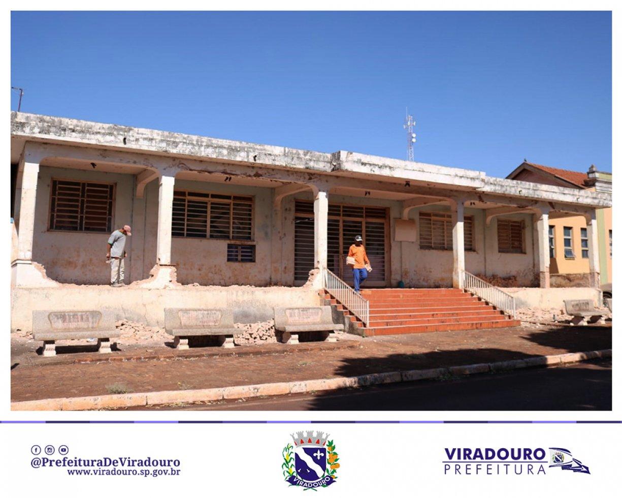 Prefeitura Inicia a Reforma do Centro Comunitário