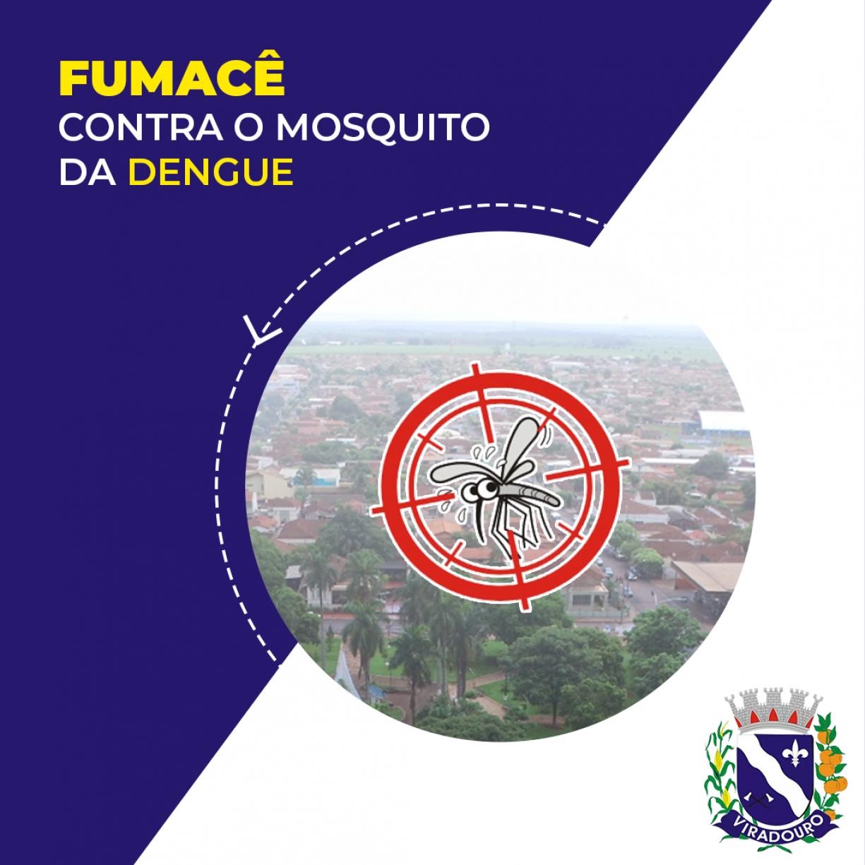 Fumacê Contra o Mosquito da Dengue