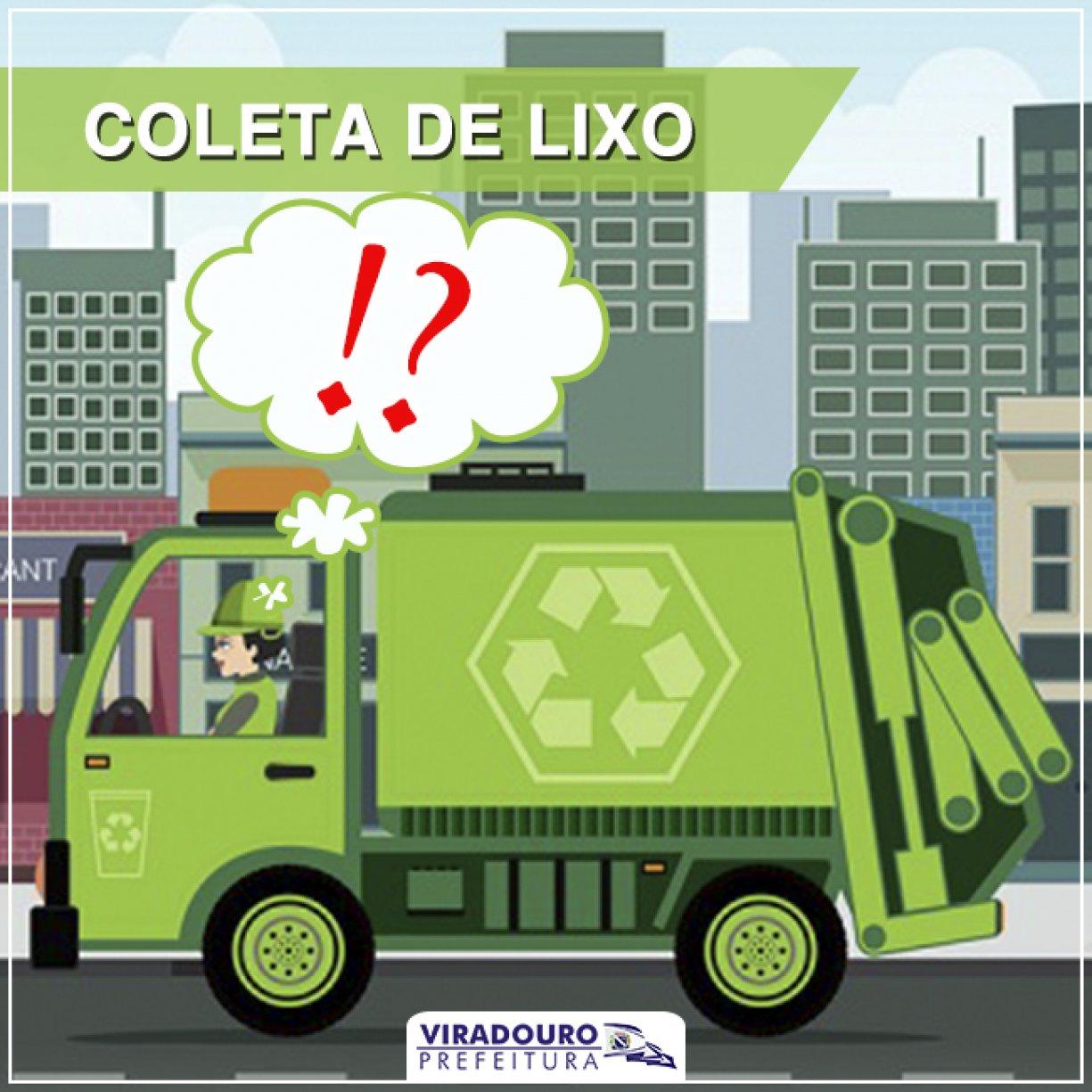 Comunicado: Coleta de Lixo