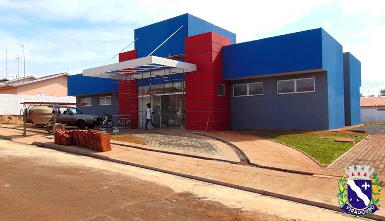 Etapa Final da construção da Unidade Básica de Saúde