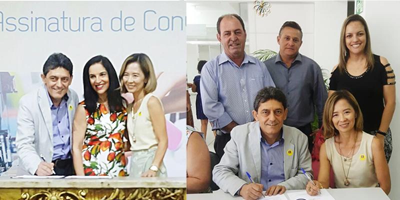 Assinatura de Convênio - Franca