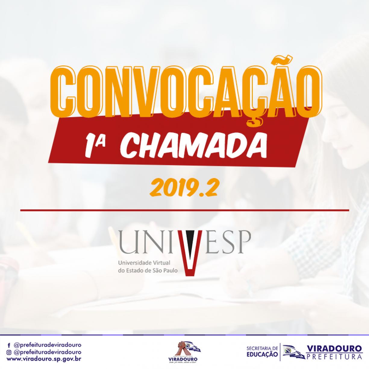 Convocação UNIVESP