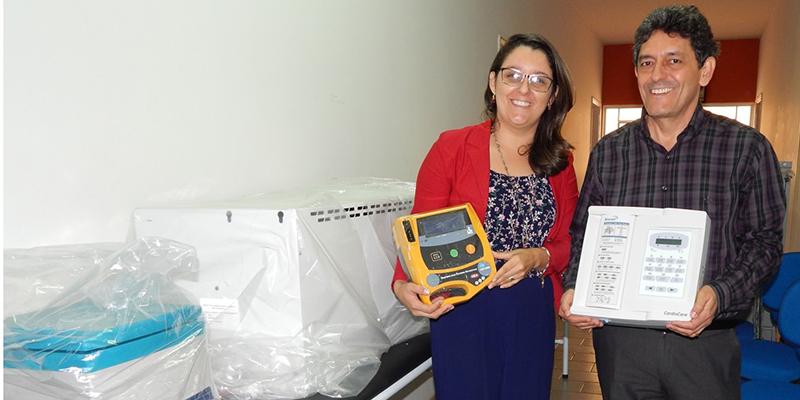 Saúde recebe novos equipamentos