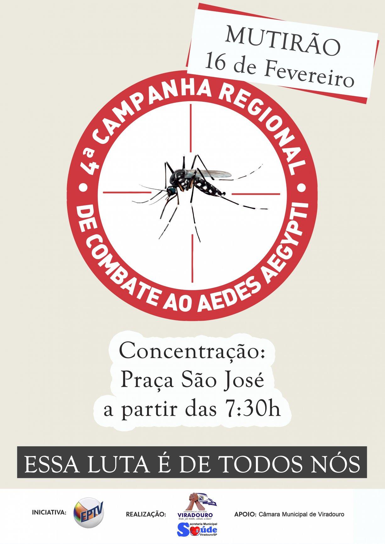 4ª Campanha Regional Contra o Aedes