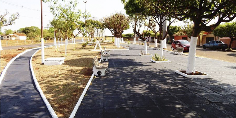 Praça Santa Edwirges - Revitalizada