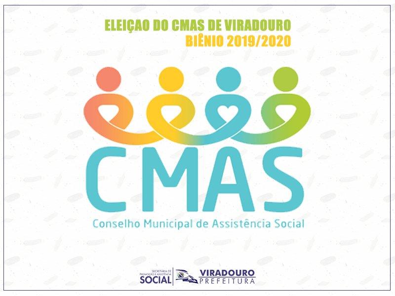 Eleição CMAS - Conselho Municipal de Assistência Social 2019-2020