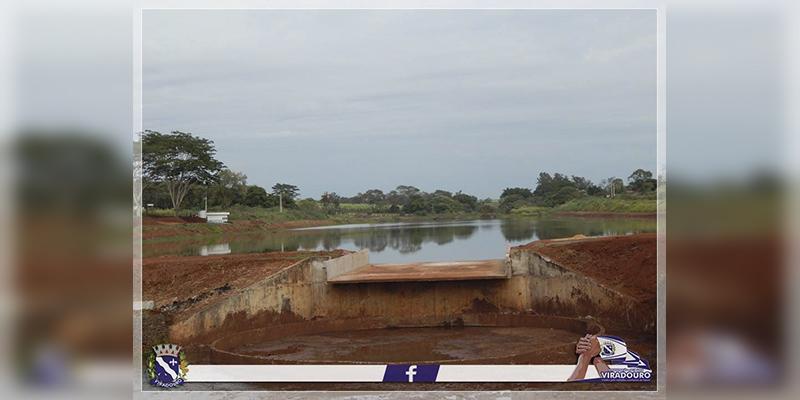 Lago de Viradouro está deixando de ser um sonho e aos poucos se torna realidade