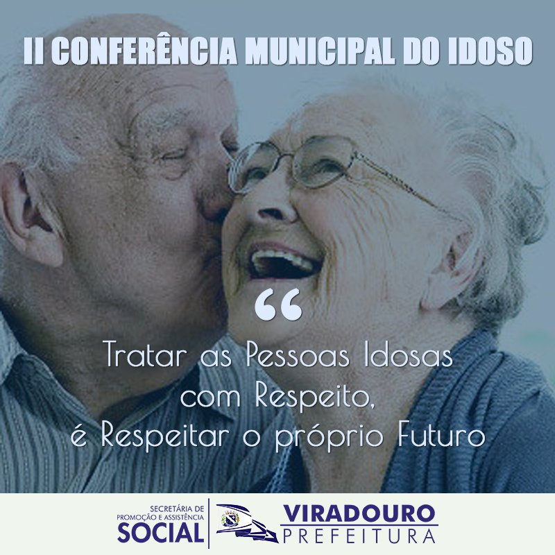Convite Conselho Municipal do Idoso