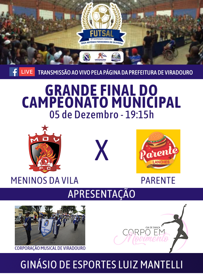 Grande Final do Futsal Municipal