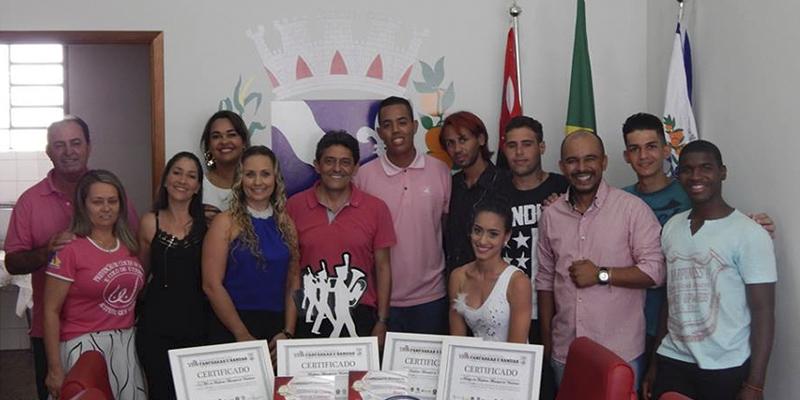 Entrega simbólica do Troféu de Campeões Paulista