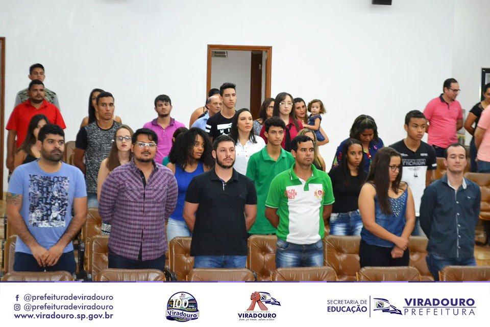 Aula inaugural da ETEC