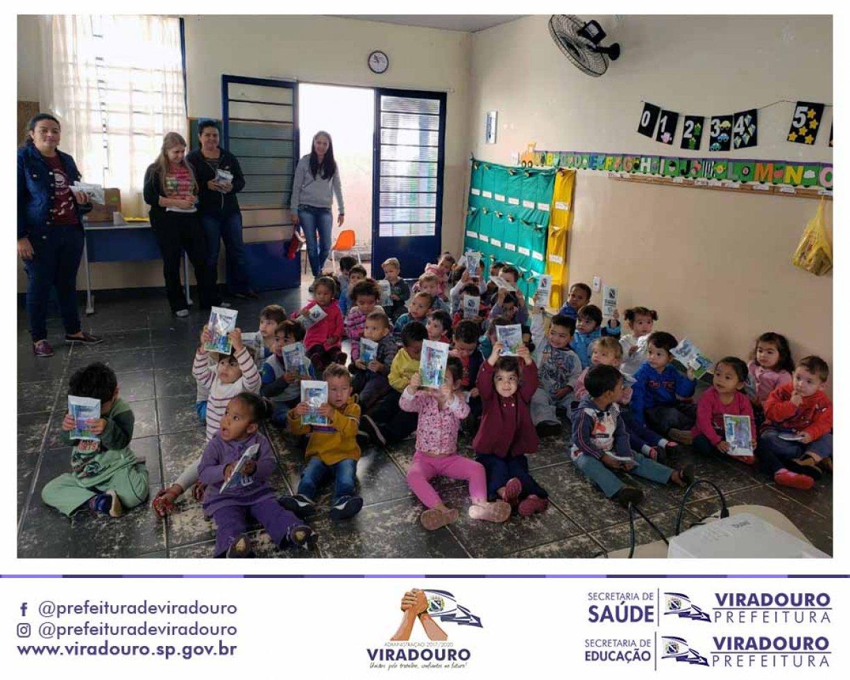 Final da Campanha de Prevenção e Higiene Bucal nas Escolas e Creches Municipais