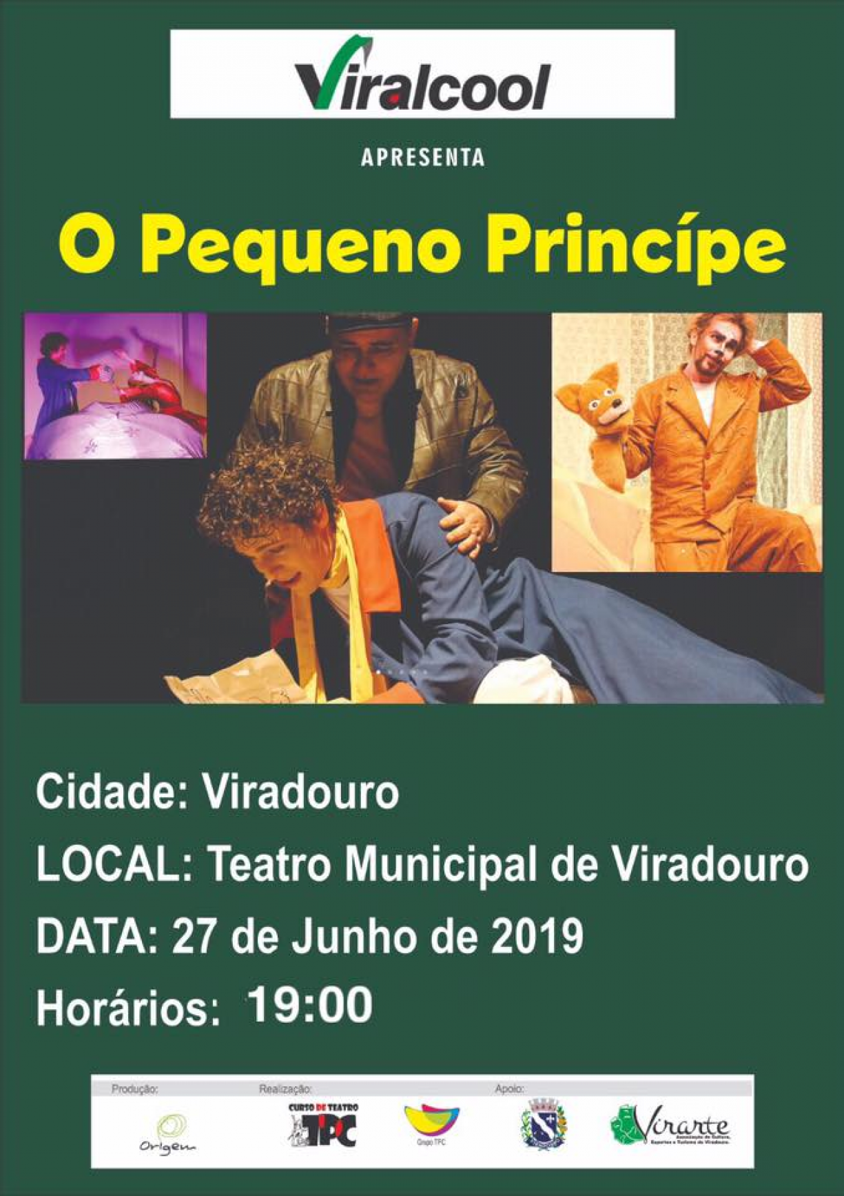 O Pequeno Príncipe no Teatro Municipal