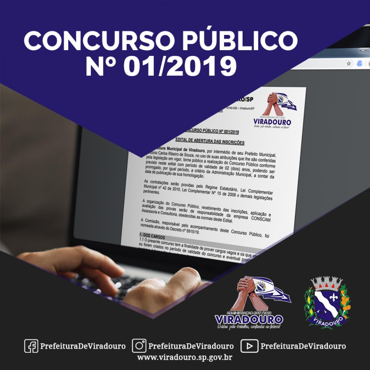 Concurso Público nº 01/2019