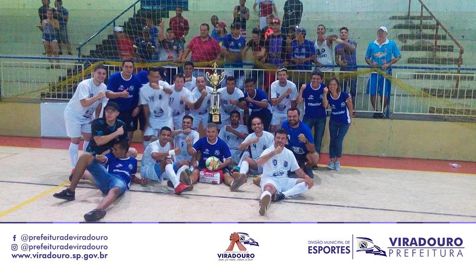 A Equipe do Futsal Viradouro venceu a Equipe de Sertãozinho nos pênaltis