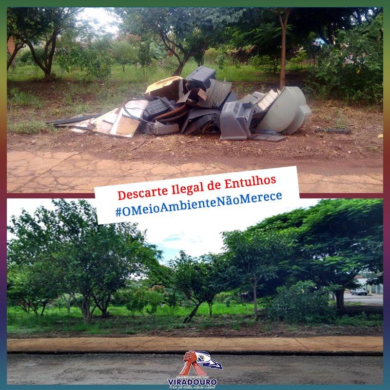 Descarte Ilegal de Lixo