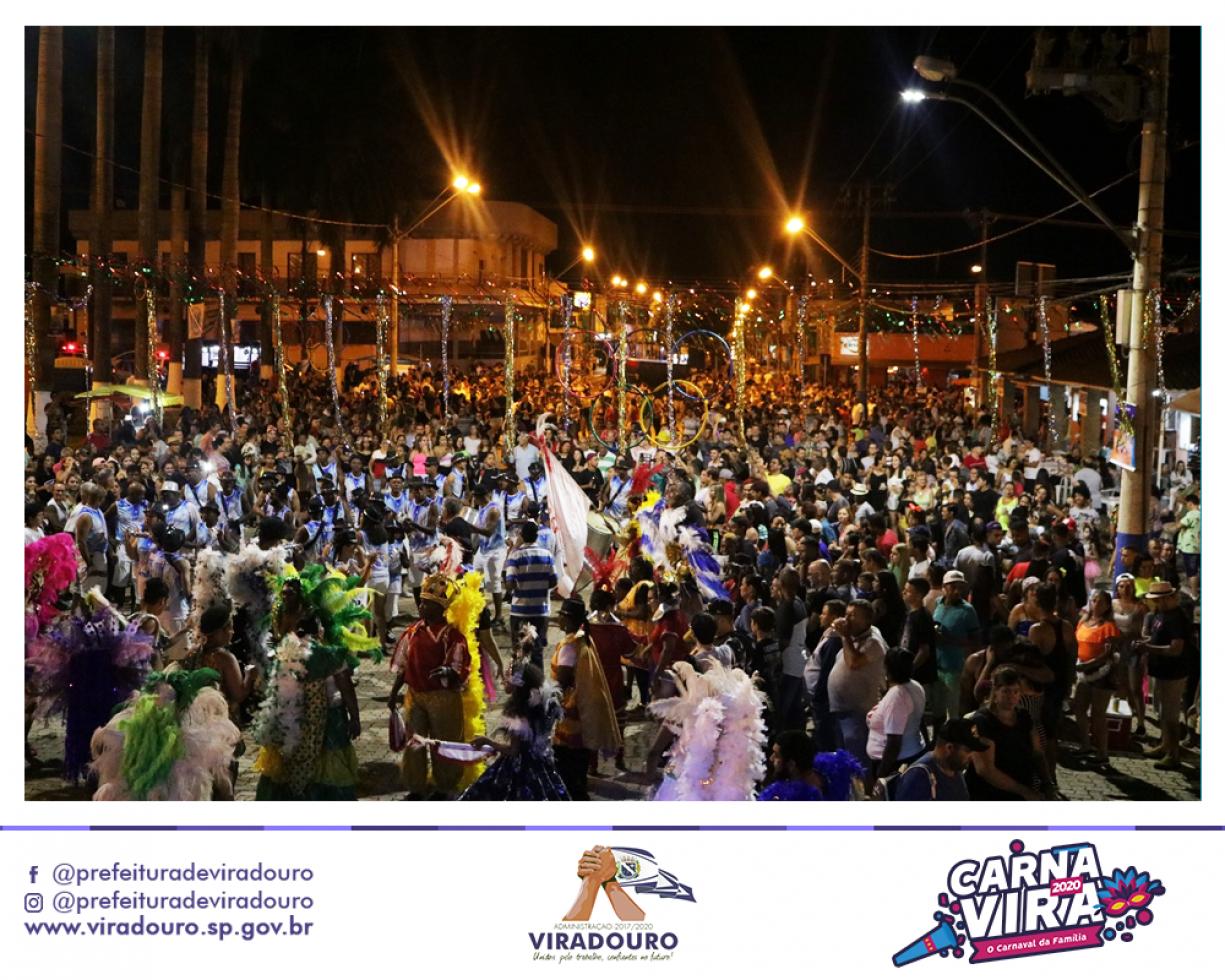 Escola de Samba é Destaque no Carnavira 2020